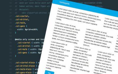 monkeygrids – scss framework